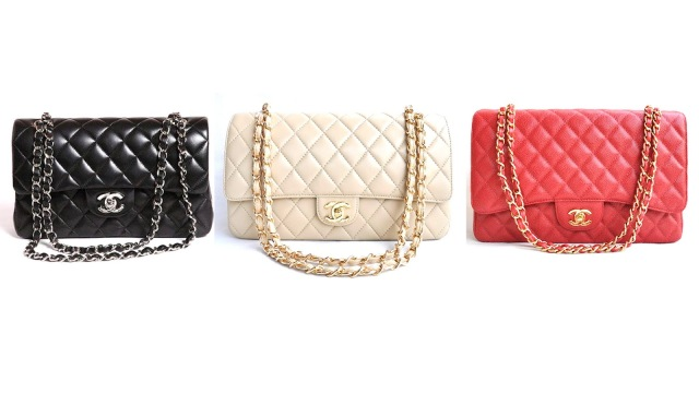 Chanel quilted bags