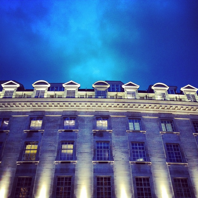 Royal Blue on Regent St